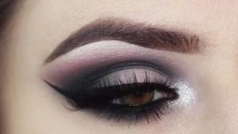 Maquiagem Para Noite Super Linda E Trabalhada, Olha Só Que Perfeita!