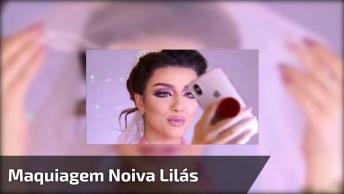 Maquiagem Para Noiva Com Sombra Rosa Linda, Vale A Pena Conferir!