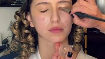 Maquiagem Para Noiva, Veja Que Make Natural É Maravilhosa!