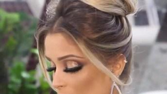 Maquiagem Para Noivas Lindíssima, Vale A Pena Conferir E Marcas As Amigas!