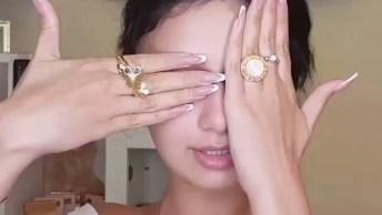 Maquiagem Para Noivas, Olha Só Este Gloss, E A Sombra Nos Olhos, Perfeito!