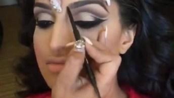 Maquiagem Para Noivas, Olha Só Que Lindo Estes Olhos, Simplesmente Perfeito!