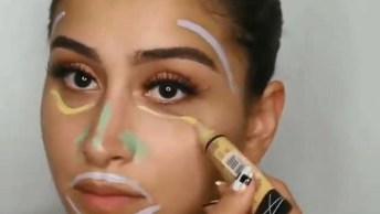 Maquiagem Para O Dia A Dia, Olha Só Esta Cor De Batom Lindo!