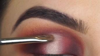 Maquiagem Para Os Olhos Com Cílios Postiços, Uma Perfeição Em Forma De Make!