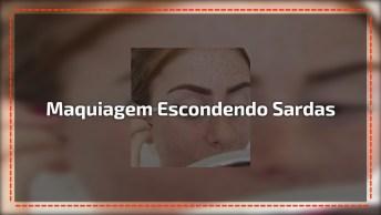 Maquiagem Para Pele Com Sardas, O Resultado É Magnífico, Confira!