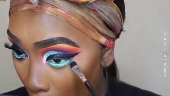 Maquiagem Para Pele Morena, Mais Uma Linda E Diferente Opção!