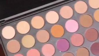 Maquiagem Para Pele Negra Com Batom Rosa, O Resultado É Lindo!