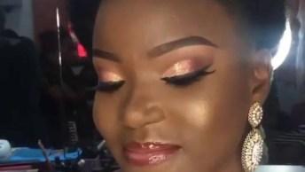 Maquiagem Para Pele Negra Glamourosa, Simplesmente Perfeita!