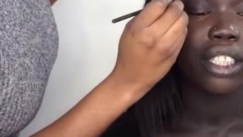 Maquiagem Para Pele Negra, Mais Um Tutorial Top Para Aprender!