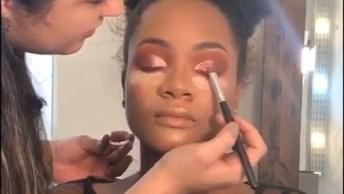 Maquiagem Para Pele Negra, Mais Uma Que Você Vai Amar Aprender, Confira!