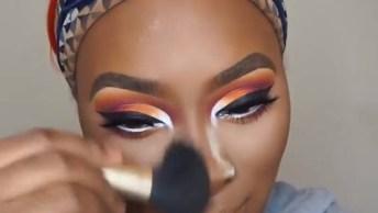 Maquiagem Para Pele Negra, Melhor Tutorial Que Vai Ver Para Esse Tipo De Pele!