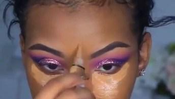 Maquiagem Para Pele Negra, Perfeito Para Sair Anoite E Arrasar!
