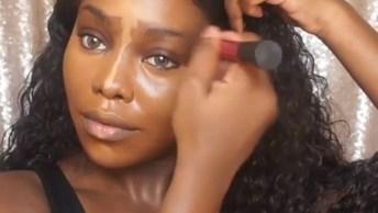 Maquiagem Para Pele Negra, Veja A Perfeição Do Resultado!