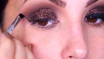Maquiagem Para Sair Sábado Anoite, Qualquer Roupa Cai Bem Com Esses Olhos!