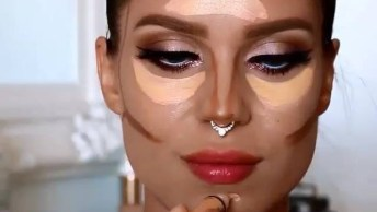 Maquiagem Para Sexta-Feira A Noite, Olha Só Que Linda Esta Make!