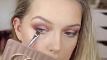 Maquiagem Para Sexta-Feira, Olha Só Que Coisa Mais Linda Esse Batom Vermelho!