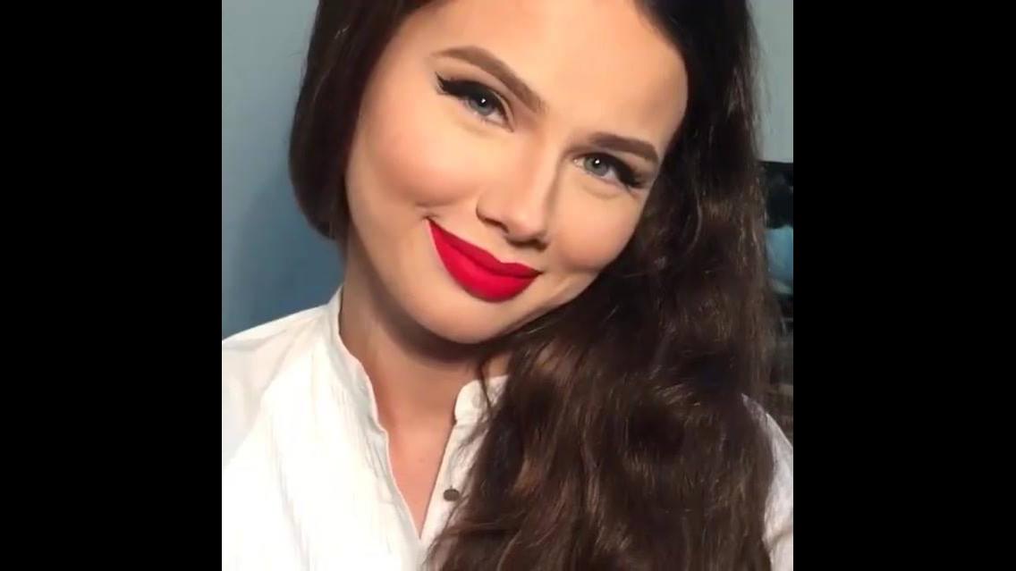 Maquiagem para usar com batom vermelho