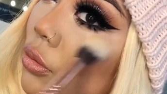 Maquiagem Passo A Passo Para Aprender E Arrasar, Veja Que Linda!