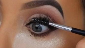 Maquiagem Passo A Passo Para Você Aprender A Fazer, Vale A Pena Conferir!