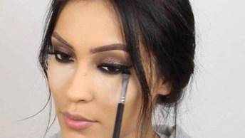 Maquiagem Passo A Passo Para Você Aprender, Você Vai Adorar O Resultado!