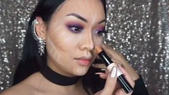 Maquiagem Passo A Passo Que É Fácil De Aprender, Uma Make Arrasadora!