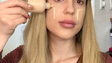 Maquiagem Perfeita Com Um Batom De Cor Incrível, Você Vai Se Apaixonar!