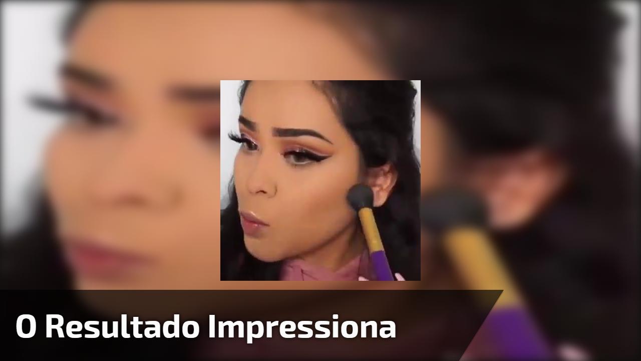Maquiagem Perfeita - O resultado dessa make te deixará impressionada!