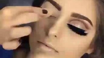 Maquiagem Perfeita Para Curtir Uma Festa, O Resultado É Surpreendente!