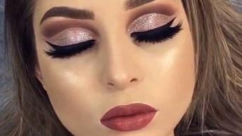 Maquiagem Perfeita Para Festa - Essa Sombra É Muito Linda!