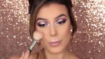 Maquiagem Perfeita Para Final De Semana, Vale A Pena Conferir!