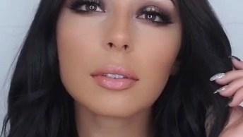 Maquiagem Perfeita Para Não Errar Nunca Nas Festas, Veja Que Linda!