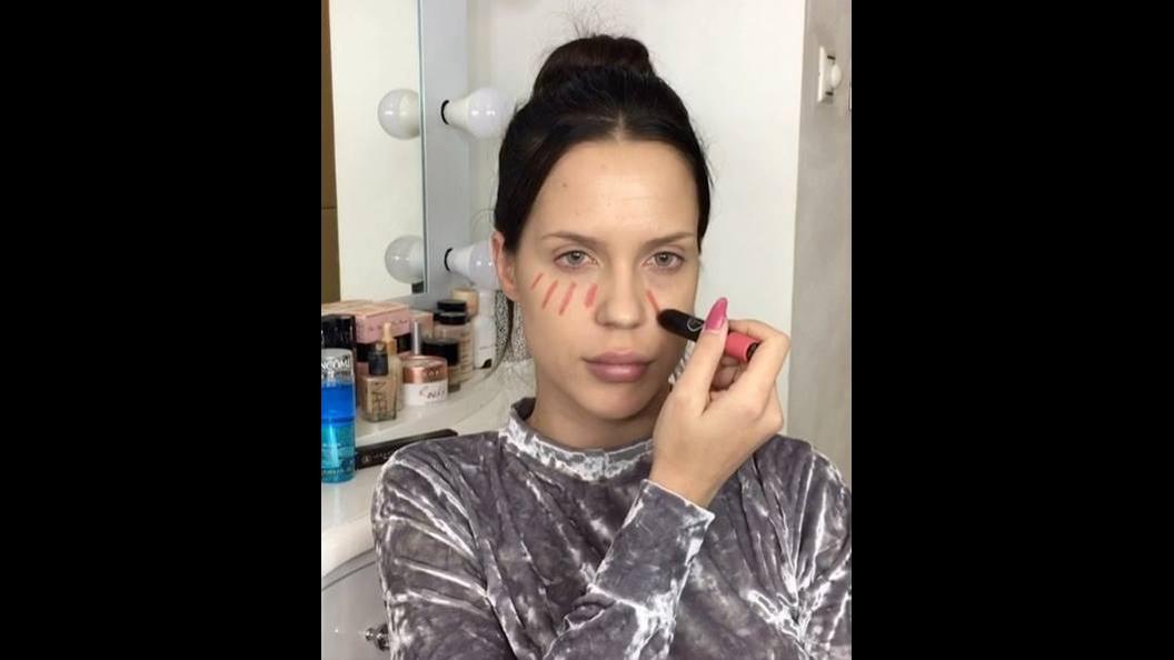 Maquiagem que valoriza os lábios