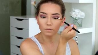 Maquiagem Sem Exageros E Que Fica Linda, Confira E Compartilhe!