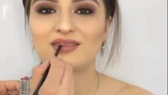 Maquiagem Simples, Com Resultado Maravilhoso, Confira Até O Final!