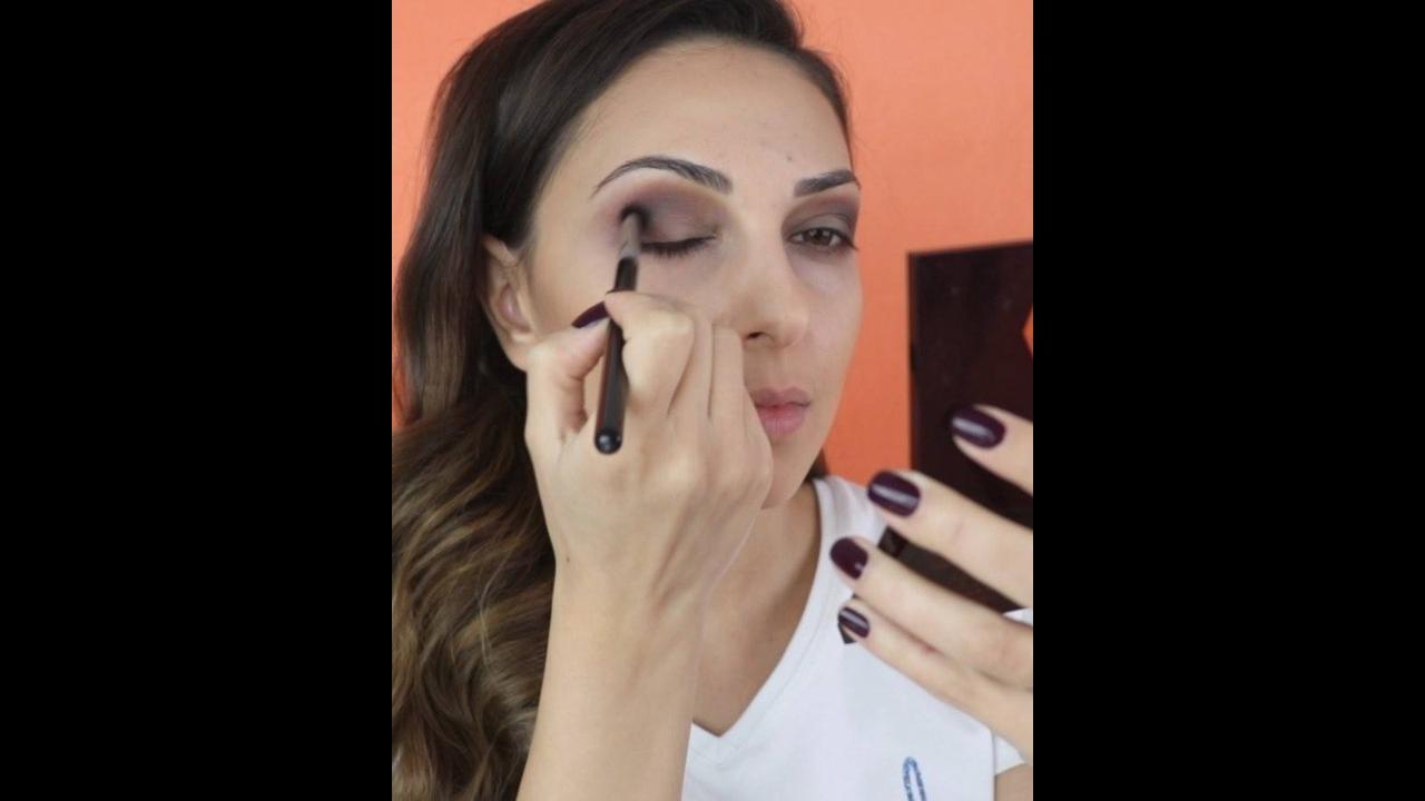 Maquiagem simples para aprender