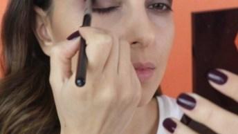 Maquiagem Simples Para Aprender, Confira O Resultado Lindo!