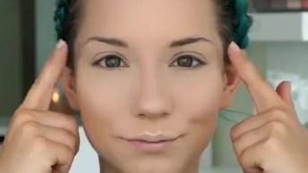 Maquiagem Simples Para Iniciantes, O Resultado Fica Meigo!