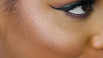 Maquiagem Simples Para Mulheres Pardas, Fica Muito Lindo O Resultado!