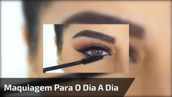 Maquiagem Simples Para O Dia A Dia Ou Para Festa, Se Não Quiser Carregar!