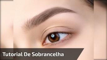 Maquiagem Simples Para Olhos E Sobrancelha, Fica Lindo Demais!