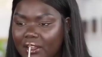 Maquiagem Simples Para Pele Negra, O Resultado É Fantástico!