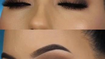 Maquiagem Sombreada Com Pele Perfeita, Vale A Pena Conferir!