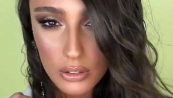 Maquiagem Super Luxo Para Mulheres Estilosas, Puro Glamour!