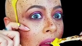 Maquiagens Artísticas Feitas Com Muita Criatividade, Vale A Pena Conferir!