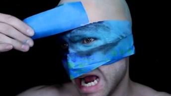 Maquiagens Artísticas Masculinas Para Curtir O Carnaval!