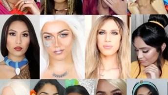Maquiagens Baseadas Em Princesas De Desenhos Famosos, Todas São Lindas!