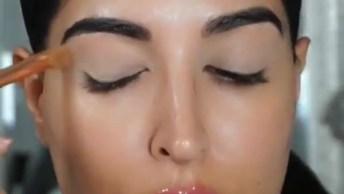 Maquiagens Com Resultados Profissionais, Veja Que Técnica Incrível!
