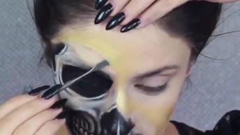Maquiagens De Caveira Mexicana Para O Halloween, Veja Que Lindas!