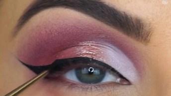 Maquiagens Em Tons Rosa, São 4 Para Escolher A Mais Top!