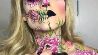 Maquiagens Para Arrasar Em Festas A Fantasias, Que Perfeitas!